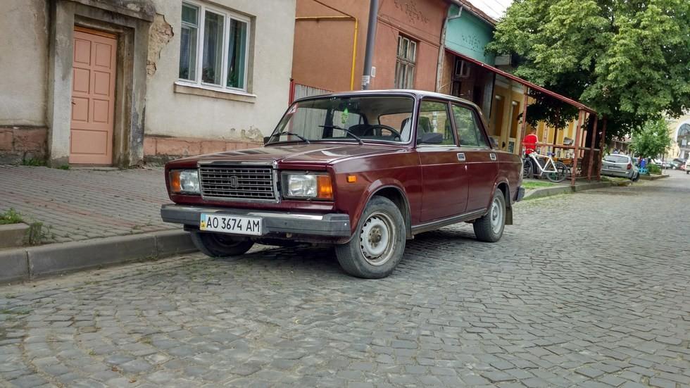 ВАЗ-2107 украинского производства 2008 года выпуска.