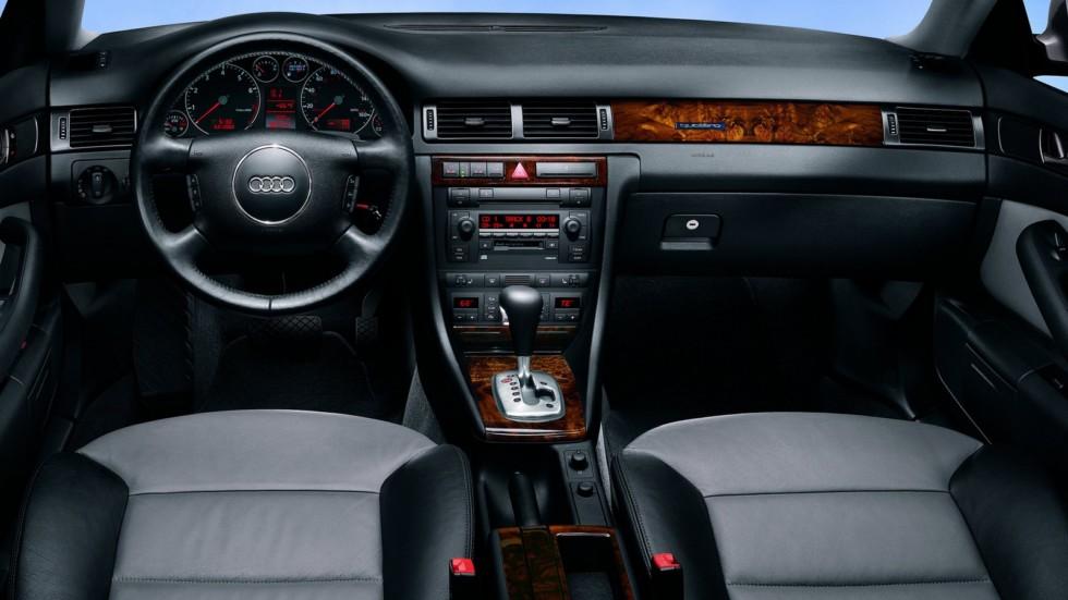 На фото: Интерьер Audi Allroad quattro '2000–06