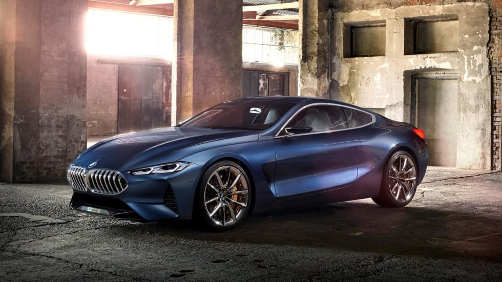 На фото: BMW Concept 8 Series '2017