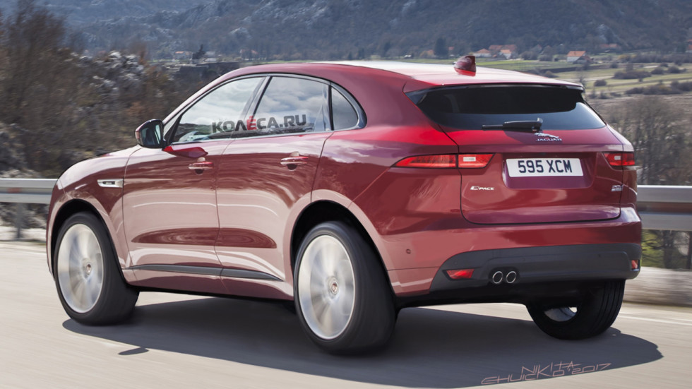 Jaguar E-Pace rear1