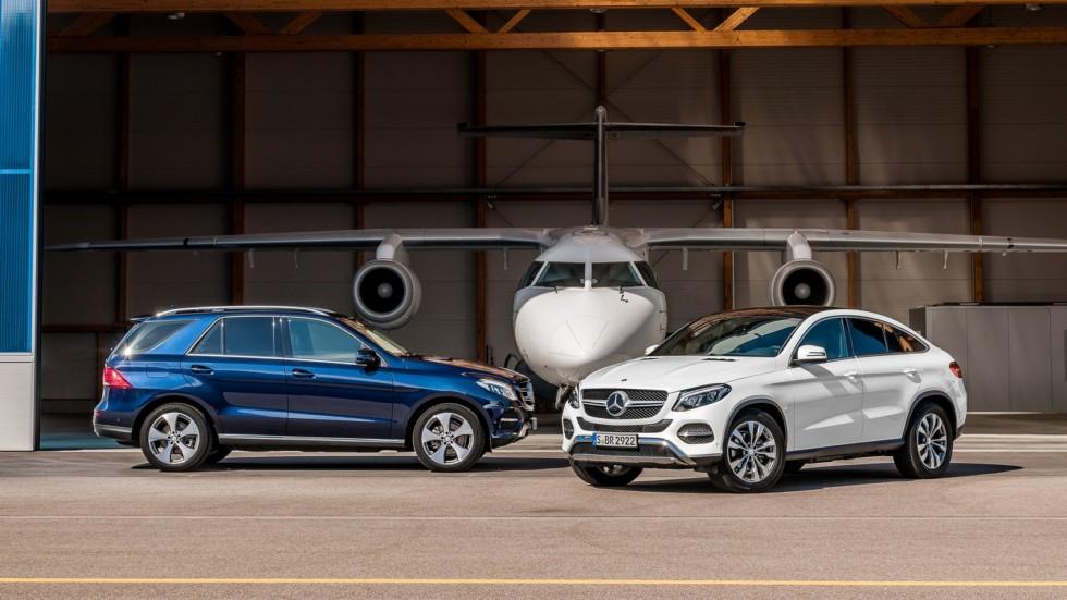 На фото: Mercedes-Benz GLE-Klasse '2015–н.в.