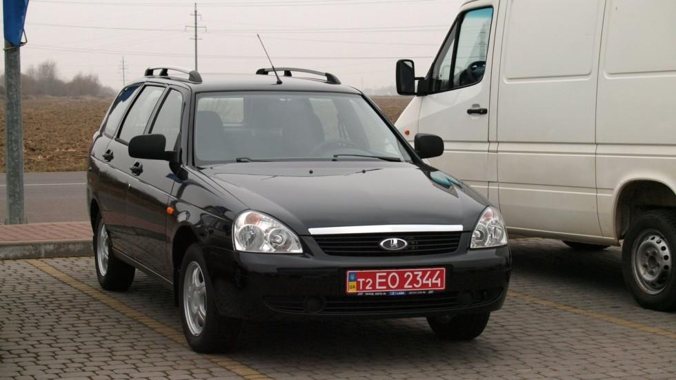 Приору на украинских заводах никогда не выпускали, поскольку более современные модели и модификации АвтоВАЗ предпочитал производить сам