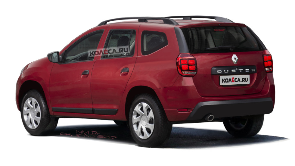Renault Duster rear2