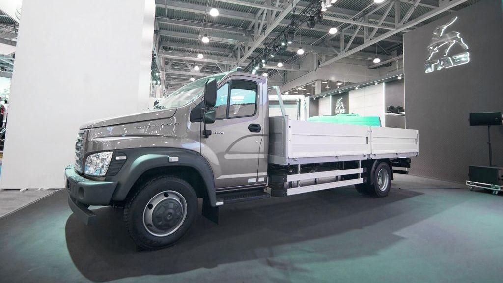 «Группа ГАЗ» представила электрический микроавтобус «ГАЗель Next