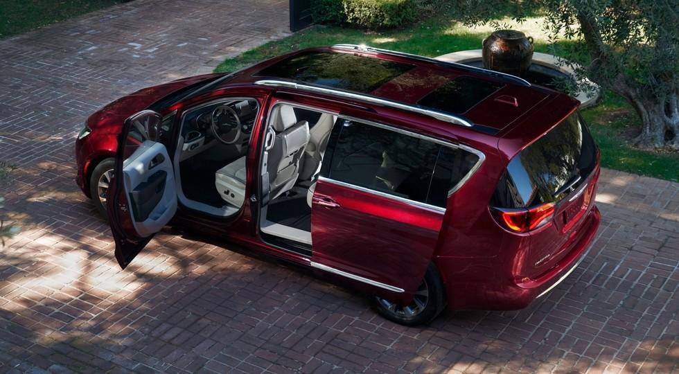 Объявлена цена в РФ — Минивэн Chrysler Pacifica