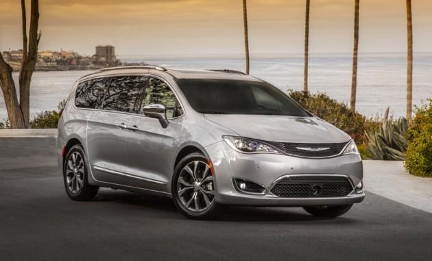 Дороже конкурентов известна цена Chrysler Pacifica для России