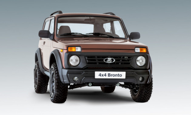 Самую «внедорожную» Лада 4x4 Bronto оценили в740 000 руб.