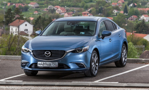 22Сен Mazda6 получит задний привод