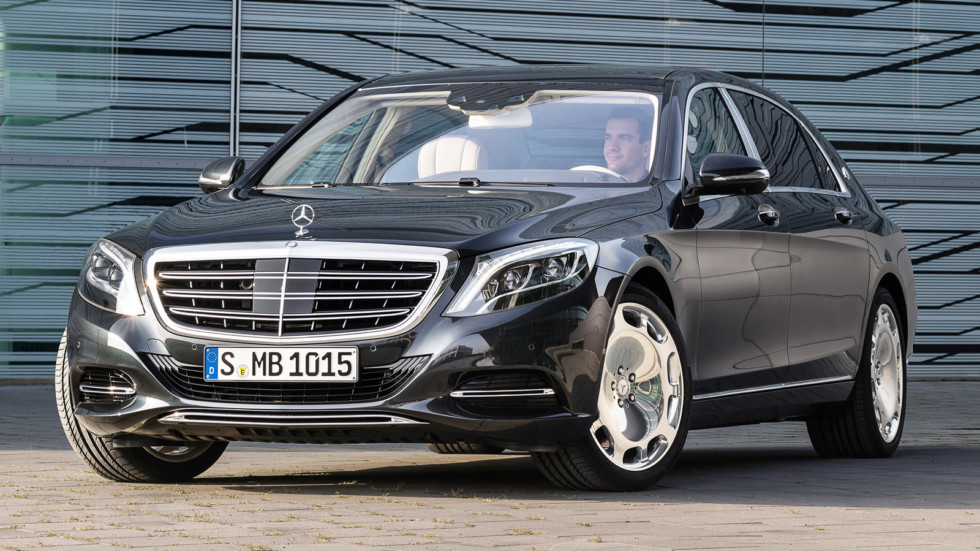 На фото: Mercedes-Maybach S 600