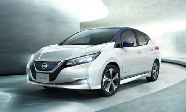 Ниссан представил новый электромобиль Leaf 2018