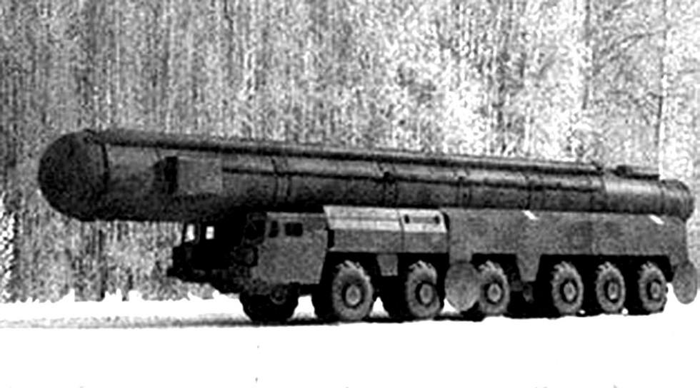 Это фото считается единственным документальным изображением комплекса «Темп-2С»