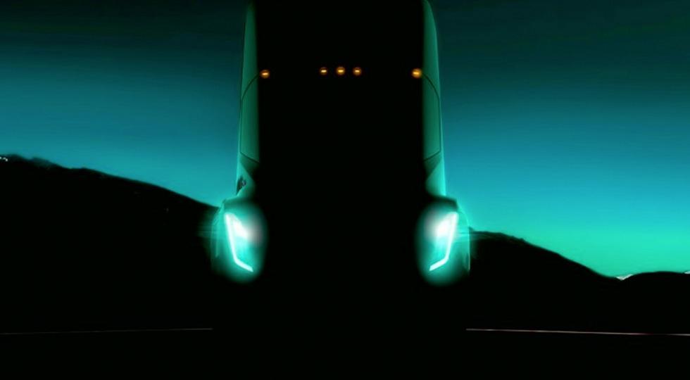 Тизер электрического грузовика Tesla