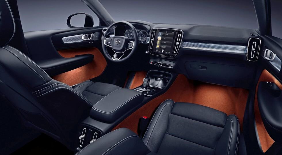 Вольво весной планирует начать продажи нового кроссовера XC40 в РФ