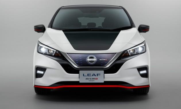 Электромобиль Ниссан Leaf получит «заряженную» версию Nismo