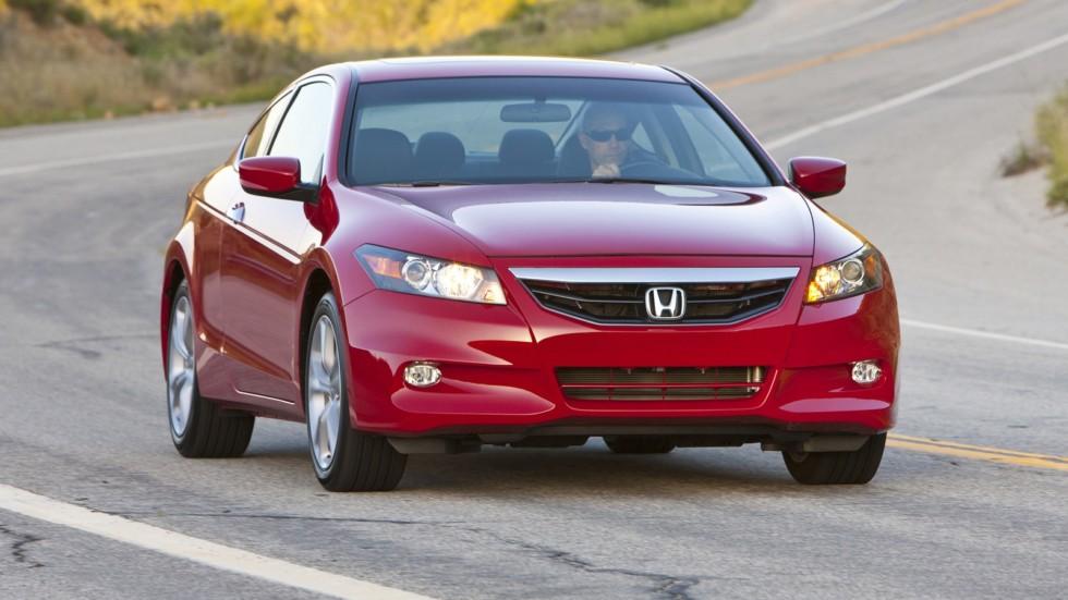 На фото: Honda Accord V6 Coupe 2011–12
