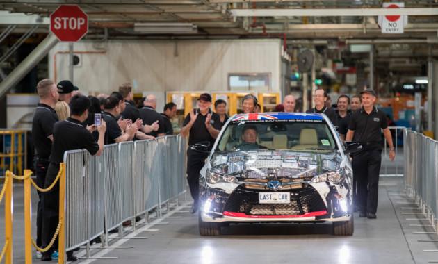 ВАвстралии закрывается последний завод Тойота