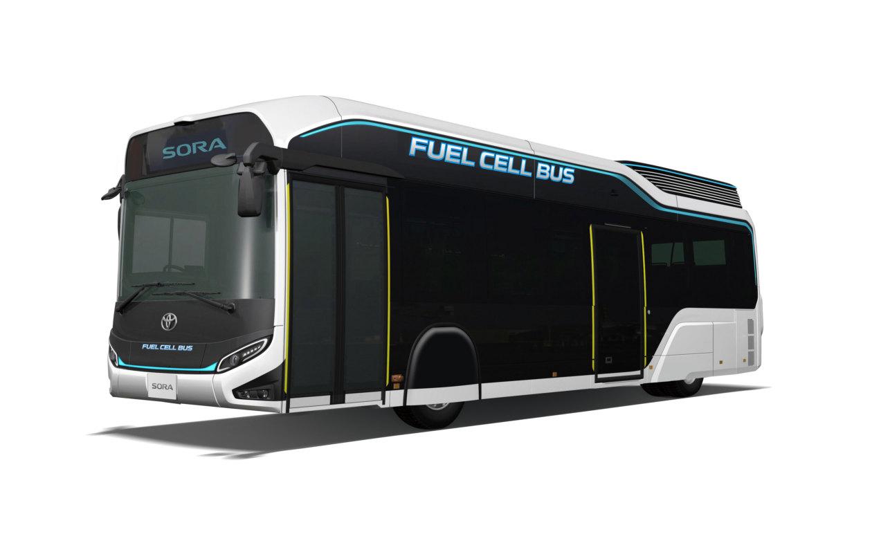Toyota построила водородный автобус