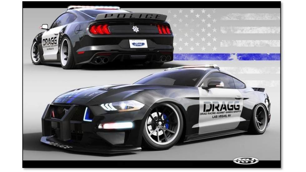 2018 Ford Mustang Fastback created by DRAGG