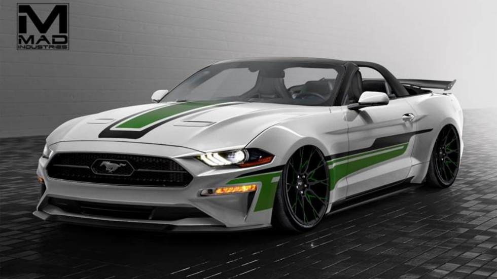 2018 Ford Mustang Convertible created by MAD Industries