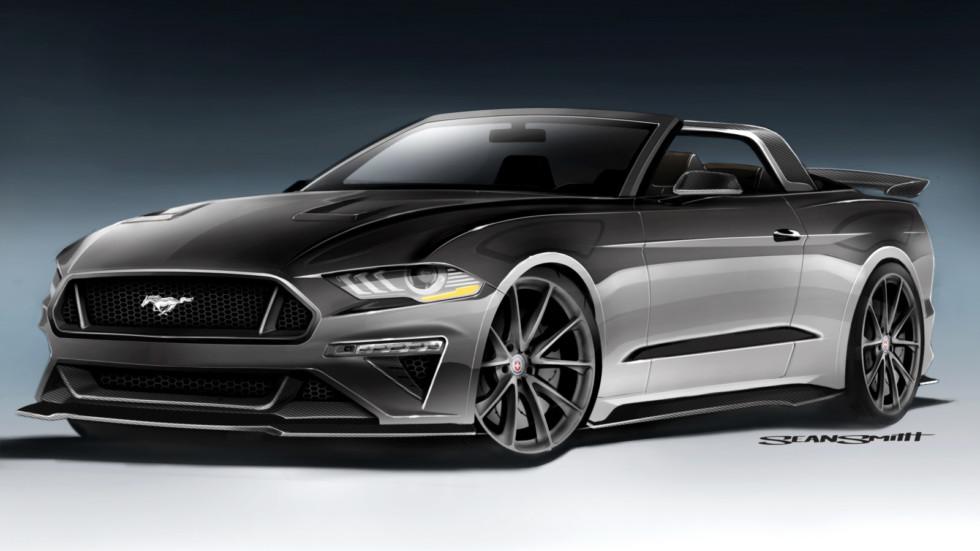 Ford покажет на SEMA несколько особенных Мустангов