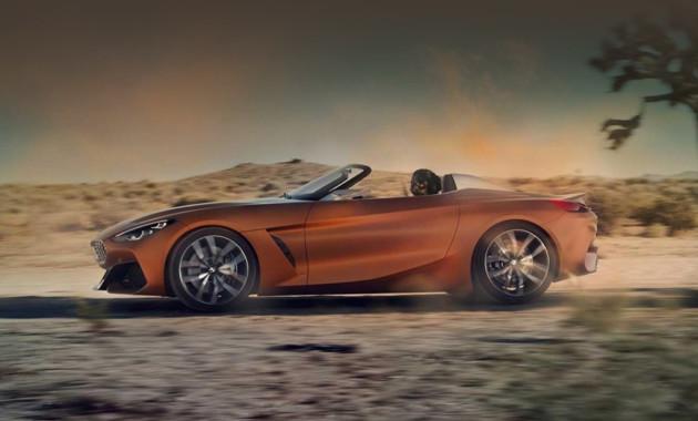 Родстер BMW Z4 M40i вверсии Competition Package оснастят 385-сильным мотором
