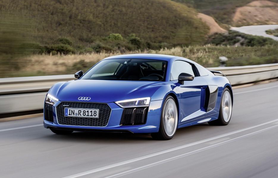 Audi R8 получит мощный мотор V6 колесару