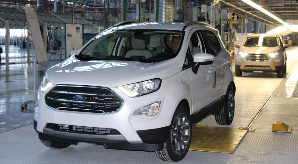 Ford Starts European Production of the New EcoSport SUV in Roman