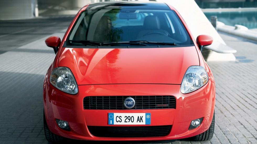 На фото: Fiat Grande Punto 3-porte '2005–12