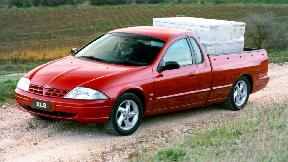 Ford Falcon Ute XLS AU-spec (AU) '1999–2000