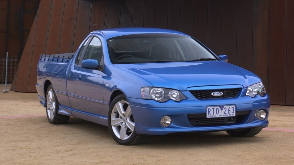 Ford Falcon Ute XR6 Turbo AU-spec (BA) '2002–05