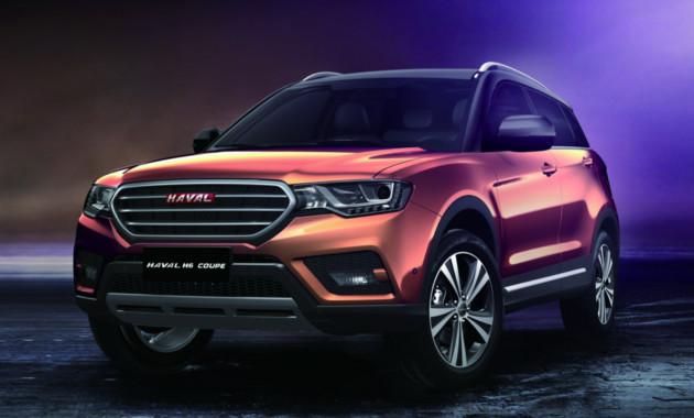 Стали известны рублевые цены накросс-купе Haval H6 Coupe