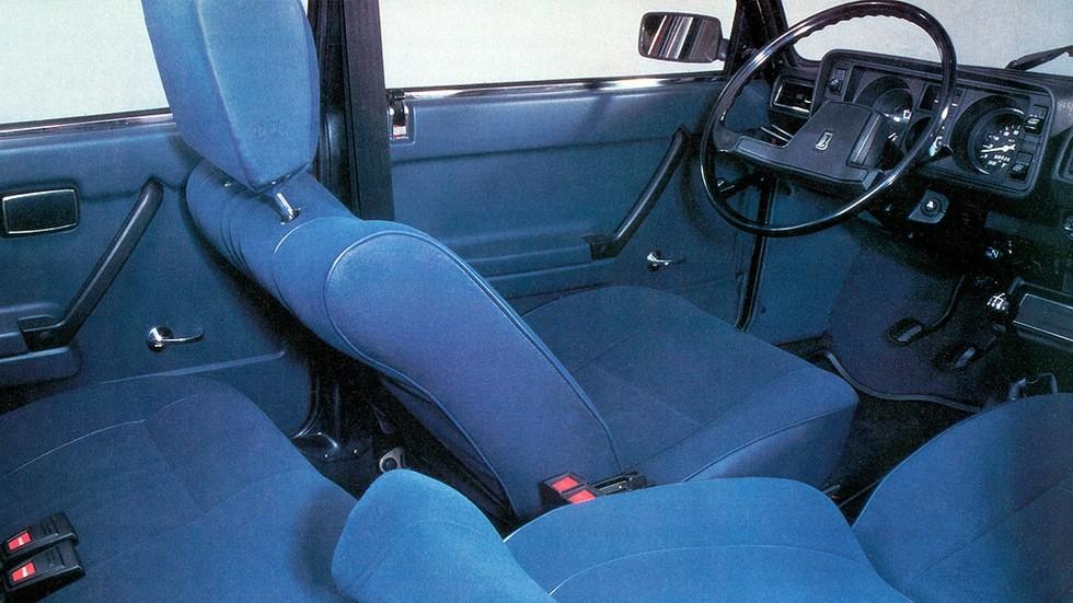 Интерьер Lada 2105 '1981–84