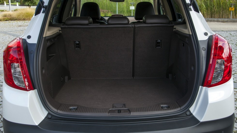 Opel Mokka Interior, Trunk