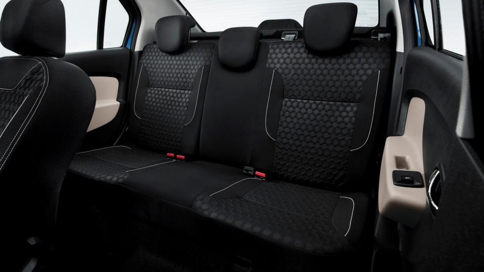 Интерьер Renault Logan RU-spec '2014–н.в.ж