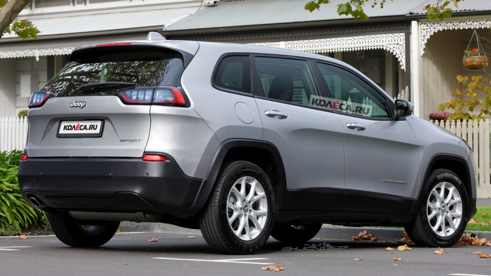 Jeep Cherokee rear1