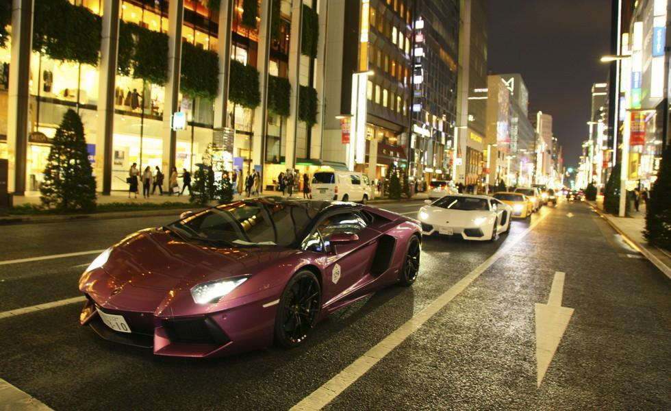 Lamborghini Aventador SRoadster: юбилейная версия крадости японцев