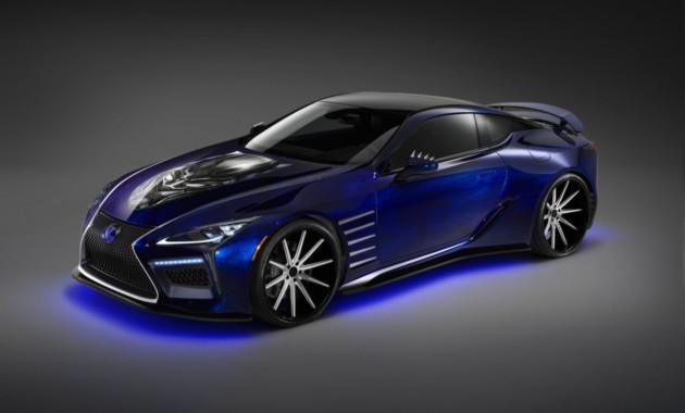 Крутой концептуальный автомобиль для «Черной Пантеры» от Лексус иMarvel