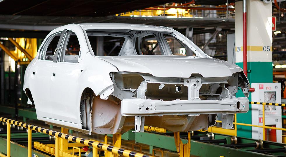 Объём производства легковушек в РФ всередине сентября увеличился