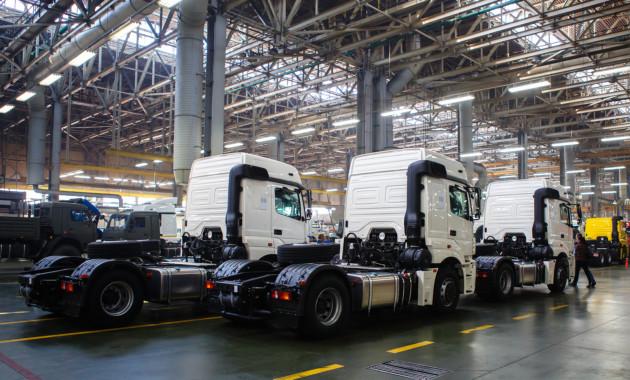 Рынок фургонов в РФ вырос неменее чем на50% осенью
