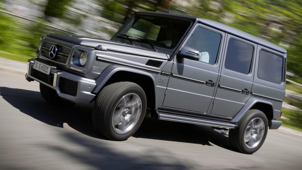 На фото: Mercedes-Benz G 65 AMG '2012–15