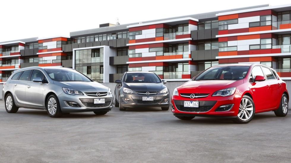 На фото: Opel Astra (J) '2009–н.в.