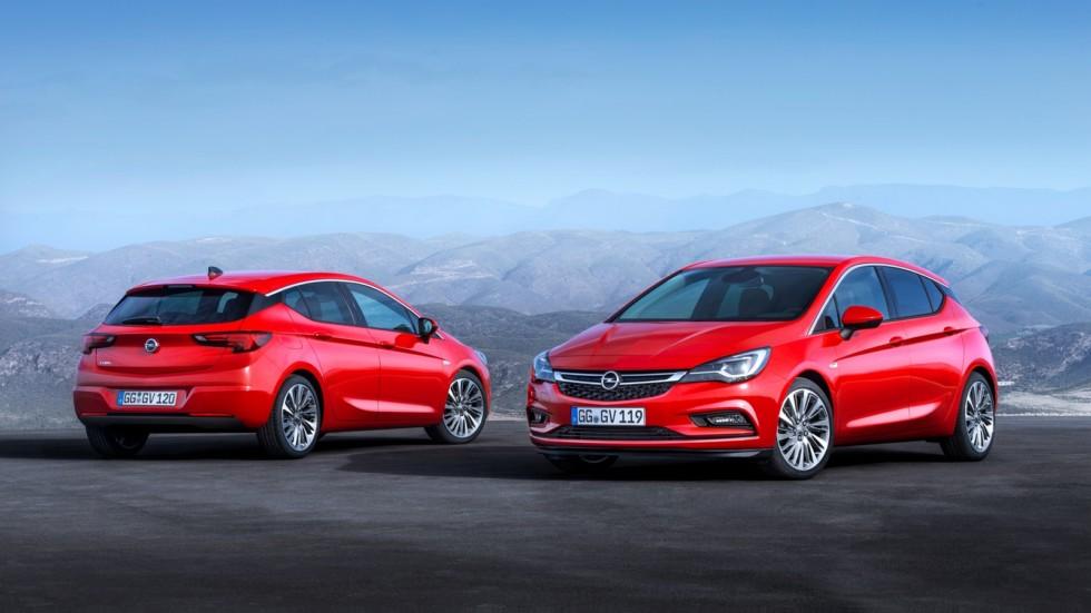 На фото: Opel Astra (K) '2015–н.в.