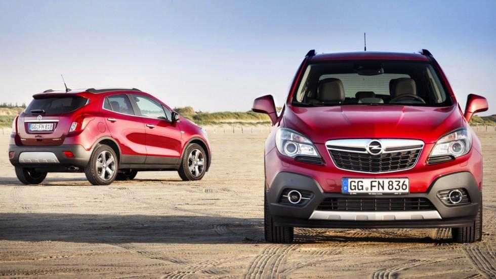На фото: Opel Mokka Turbo 4×4 '2012–16