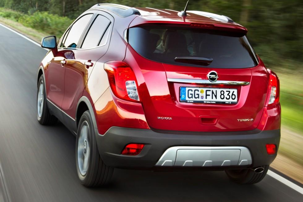 На фото: Opel Mokka Turbo 4х4 '2012–16