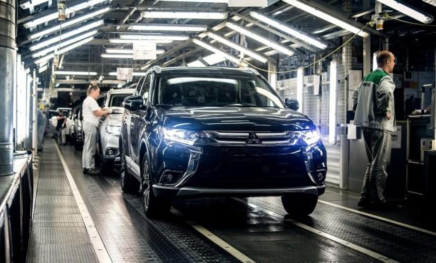 Калужский завод «ПСМА Рус» выпустил 100-тысячный джип Мицубиси
