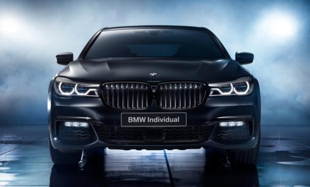 Компания БМВ привезла в РФ особый седан седьмой серии— edition Black Ice