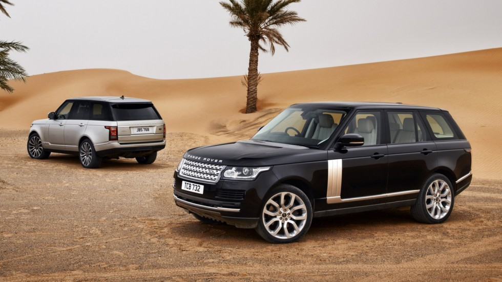 На фото: Range Rover '2012–17
