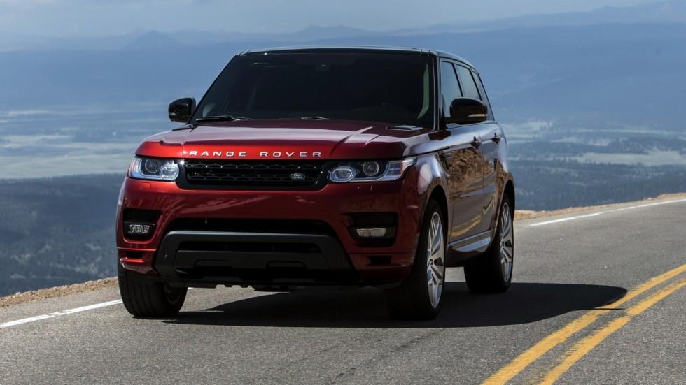 На фото: Range Rover Sport '2013–н.в.