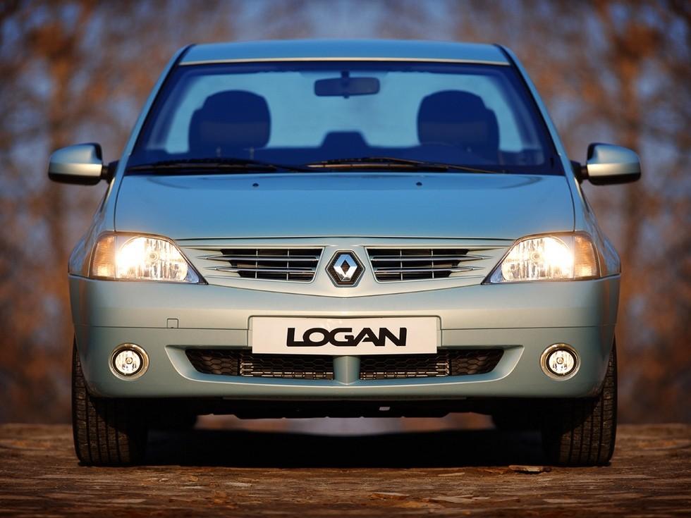 Renault Logan '2004–09э