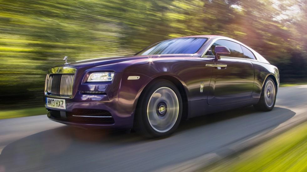 На фото: Rolls-Royce Wraith '2013–н.в.